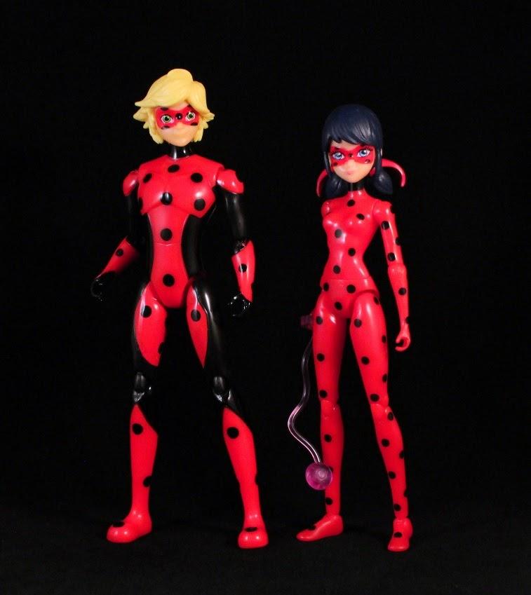 Miraculous Dolls 5 Figure Lot WiFi Ladybug Cat Noir Marinette Stormy Weather New