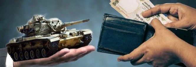 Image result for Defence allocation: A battle for funds,