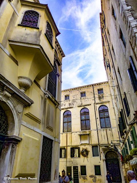 Sinagoga Española (al fondo) - Cannaregio, Venecia por El Guisante Verde Project