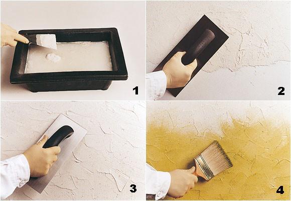 Diy c mo pintar paredes con efectos decoraci n del - Disenos para pintar paredes ...