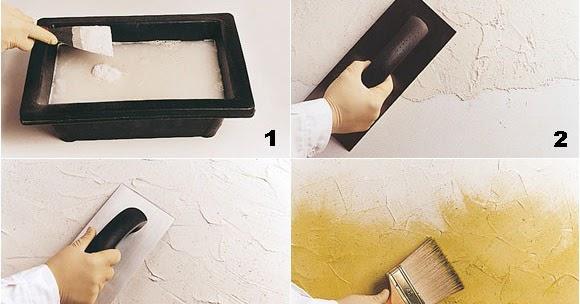 Diy c mo pintar paredes con efectos decoraci n del for Pintar paredes con efectos