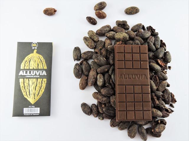 chocolat sans sucre Alluvia bean-to-bar vietnam