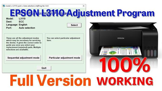 Epson L3110 Printer Red Light Blinking Problem Solution
