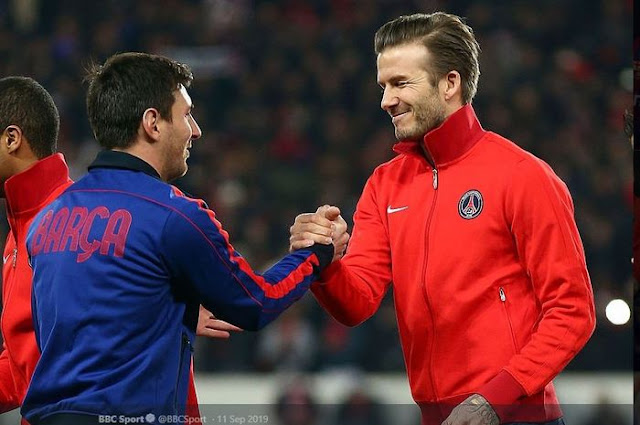 Lionel Messi is the target of David Beckham's club