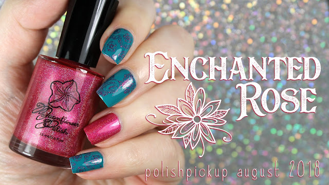 Moonflower Polish Enchanted Rose | Polish Pickup August 2018