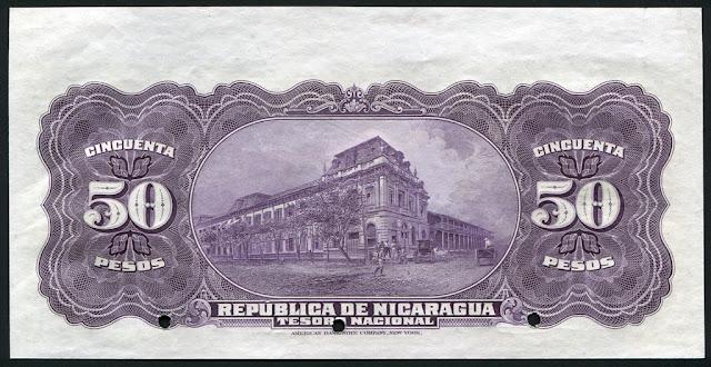 Nicaragua cincuenta pesos