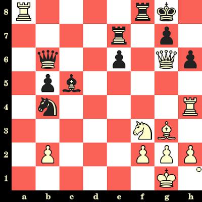 Les Blancs jouent et matent en 4 coups - Mark Taimanov vs Osvaldo Bazan, Buenos Aires, 1960