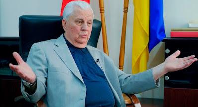 Кравчук предложил провести референдум о судьбе Донбасса и Крыма.