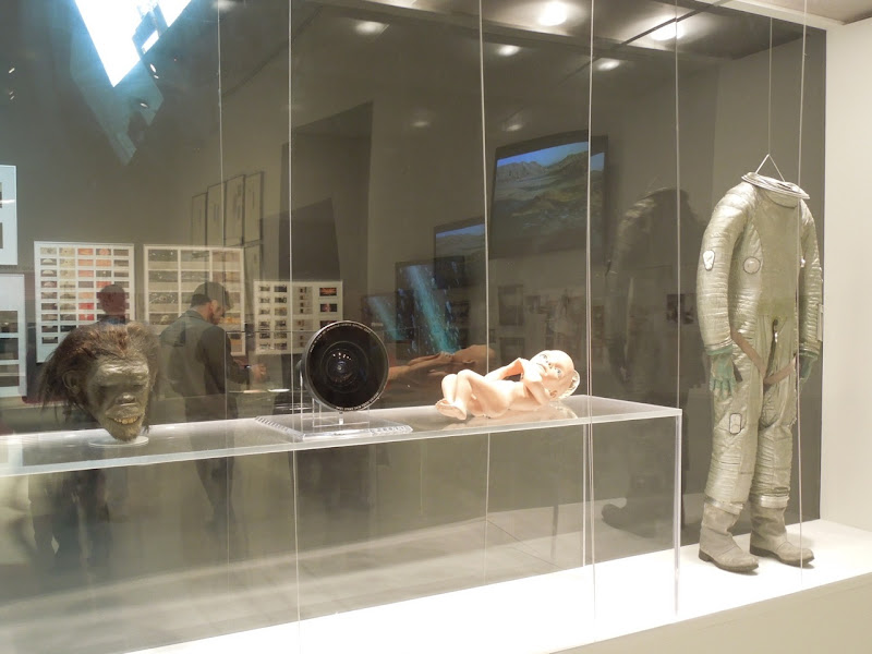 2001 A Space Odyssey movie exhibit