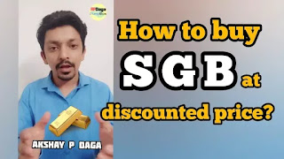 How to buy SGB at discounted price? Understand SGB naming convention | Investment Idead by APDaga