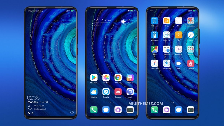 Huawei P30 V11 MIUI Theme