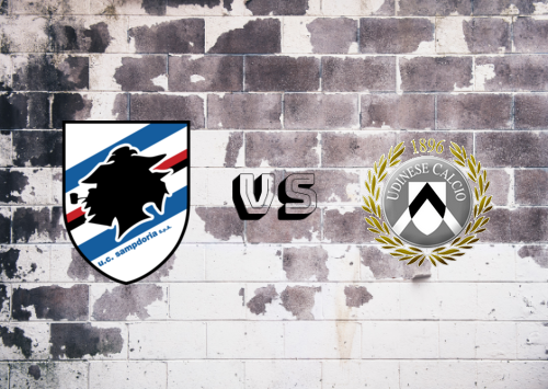 Sampdoria vs Udinese  Resumen