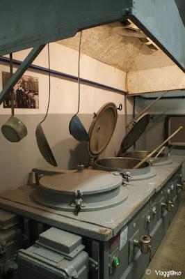 Le cucine nella Fortificazione del Four a Chaux di Lembach