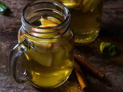 كيفية عمل شاي التفاح