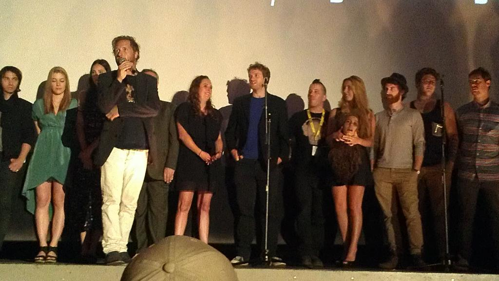 "Cast & Crew of ""Discopath"""