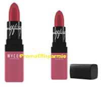 Logo Wycon ''Pimp my Lips'': vinci gratis 15 rossetti Mattificent