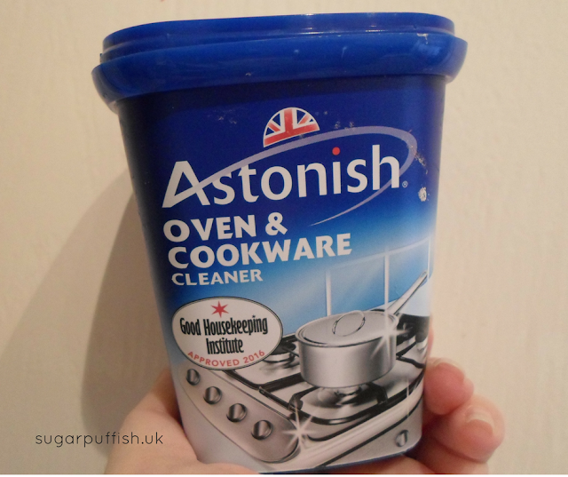 Review Astonish Oven & Cookware Cleaner