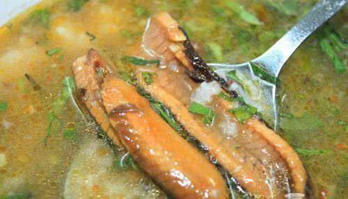 Món ăn ngon: Cháo lươn khoai môn đậu xanh