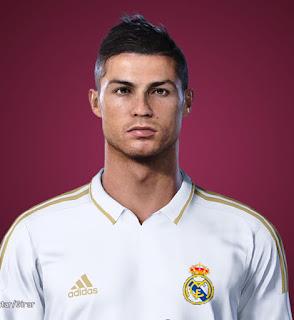 PES 2021 Faces Cristiano Ronaldo 2011 by Lucas