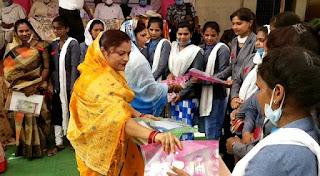 हिंदी दिवस के अवसर पर शिक्षक सम्मान समारोह का आयोजन