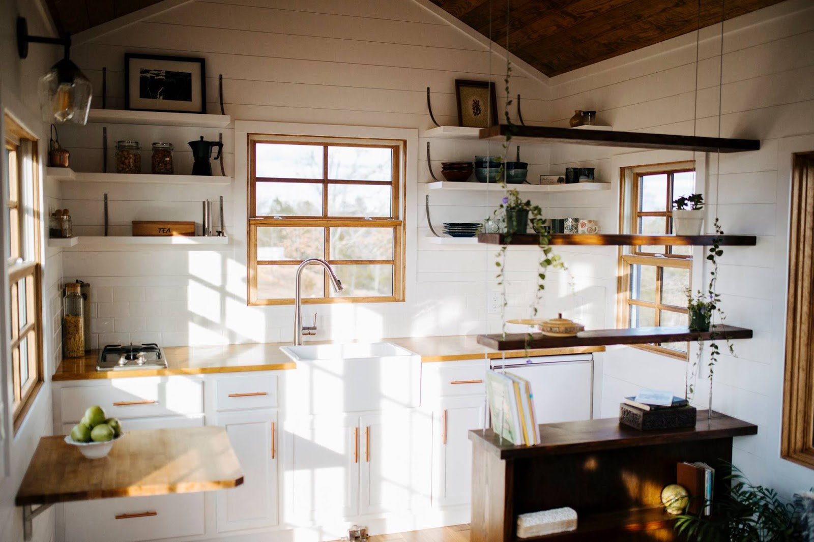 TINY HOUSE TOWN: The Monocle By Wind River Tiny Homes