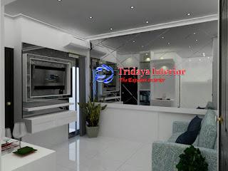 interior-apartemen-warna-putih-modern