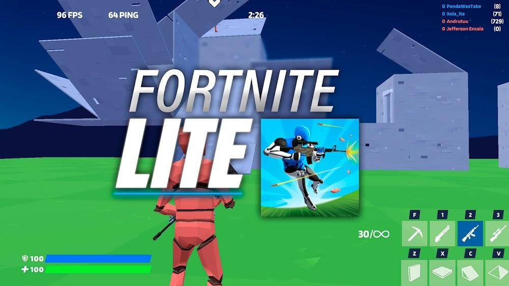 Versión LITE de FORTNITE | 1v1.LOL Battle Royale