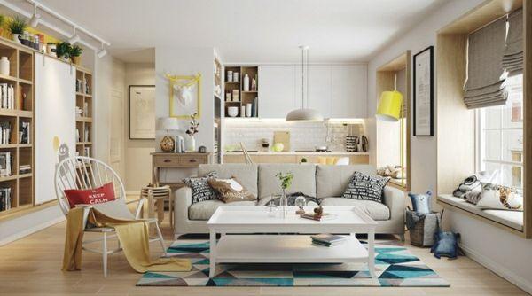 design : wohnzimmer gestalten gelb ~ inspirierende bilder von ... - Wohnzimmer Gestalten Gelb