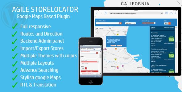 Download Store Locator (Google Maps) For WordPress v4.6.2