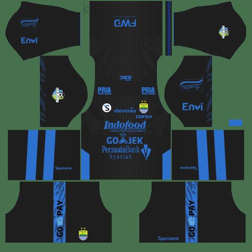 Kit DLS Persib Bandung Away
