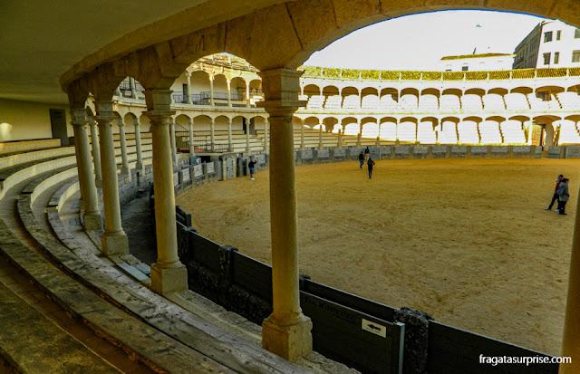 Arquibancadas da Arena de Touros de Ronda, Andaluzia