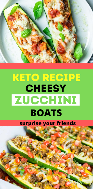 Keto zucchini boat recipe
