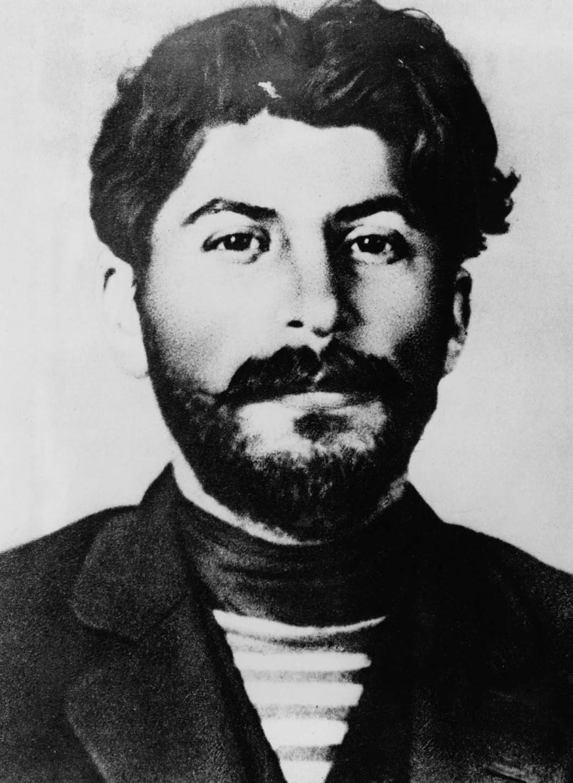 Stalin en 1911 después de su liberación del exilio.