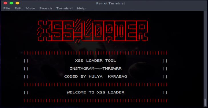 XSS-LOADER : Xss Payload Generator, Scanner & Dork Finder