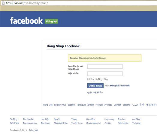 Cảnh báo lỗ hổng cho phép tạo trang lừa đảo nguy hiểm trên Facebook
