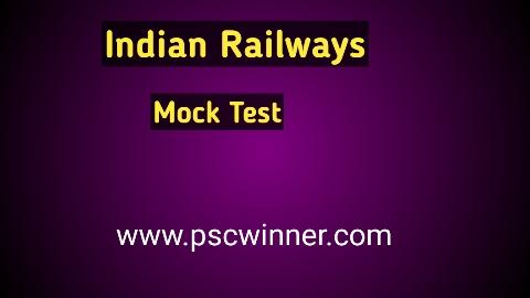 Indian Railways-Mock Test