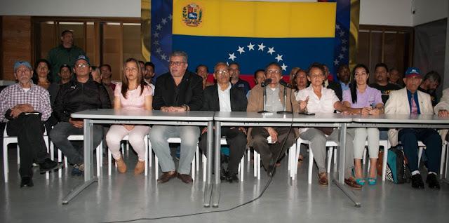 VENEZUELA: 15 organizaciones políticas crearon Factor Alternativo del Frente Amplio Venezuela Libre
