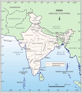 NCERT Notes: India - Size and Location