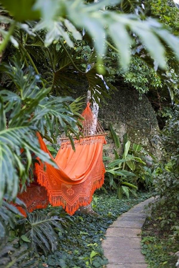 decoración con naranja