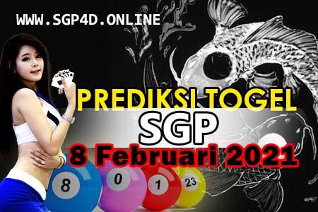 Prediksi Togel SGP 8 Februari 2021