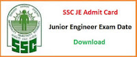 SSC JE 2019 Admit Card Application Status: SSC Junior Engineer Application Status 2019 Released!!! Direct link available here to Download admit Card, Candidates who succesfully register will be issued SSC JE Admit Card three weeks prior to the exam date, SSC JE Admit Card 2019: SSC JE Tier-1 Admit Card 2018-19 will be released by SSC. Click to get direct link to check application status, SSC JE Admit Card 2019: Staff Selection Commission has released the admit card for the computer based, SSC JE Admit Card 2019: Staff selection commission conducts SSC JE exam, which is a gateway to hire Junior Engineers, · SSC JE 2019 exam date & admit card : SSC Junior Engineer exam date & admit card Released!!! Direct link available, MECHANICAL GURU, ssc je 2018 admit card, ssc je 2018 exam date, ssc je 2018-19 admit card, ssc je 2019 admit card, ssc je 2019 exam date, ssc je admit card, ssc je exam date, SSC JE 2019: SSC is going to release the for the recruitment of Junior engineer 2018 soon. Click here to download,  ssc je admit card 2019 download, ssc je admit card 2019 release date, ssc je admit card 2018-19, ssc je admit card 2018 download, ssc.nic.in 2019 admit card, ssc je 2019, ssc je admit card release date, ssc je exam date 2019