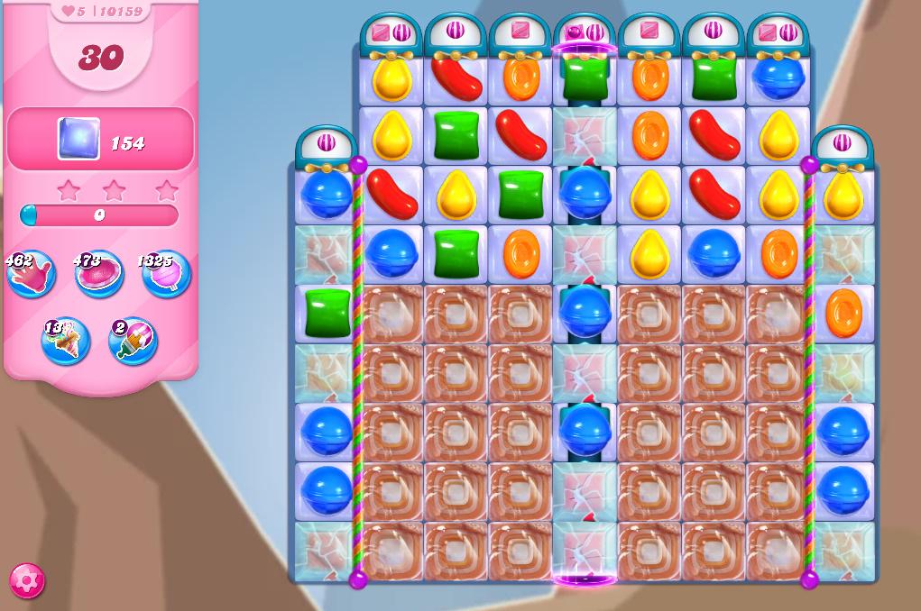 Candy Crush Saga level 10159