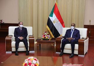 الحكومة المصرية تضع كل إمكاناتها تحت إمرة السودان