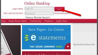 Bryant Bank Online Banking