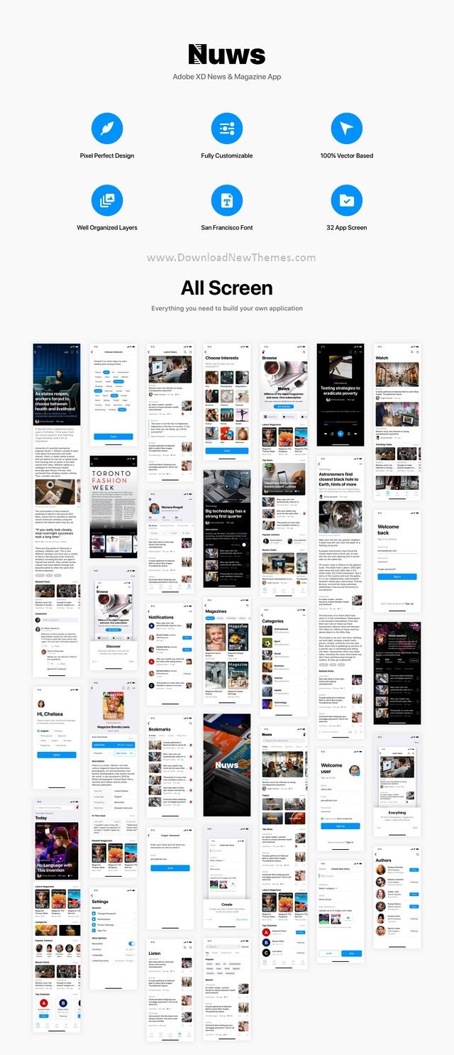 News & Magazine App