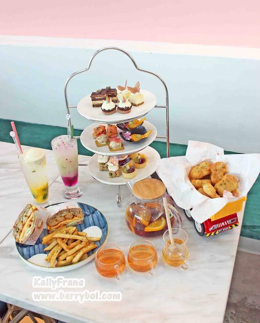 Best Cafe Food in Penang Attraction Must Visit in Penang Kids CEO Playland Cafe KellyFrans Penang Blogger Influencer