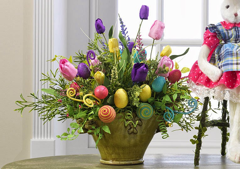 Floral Decor: Shelley B Decor And More: How To Make An Easter Floral