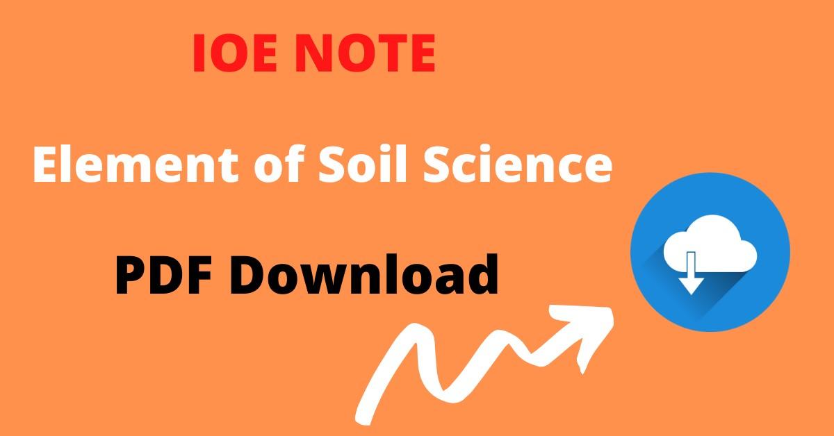 Engineering 3rd semester Soil Science