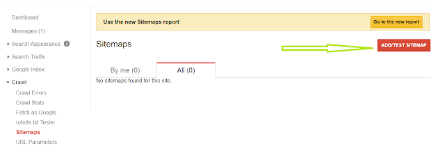 How to Submit a Sitemap to Google Webmaster Tools on Blogger