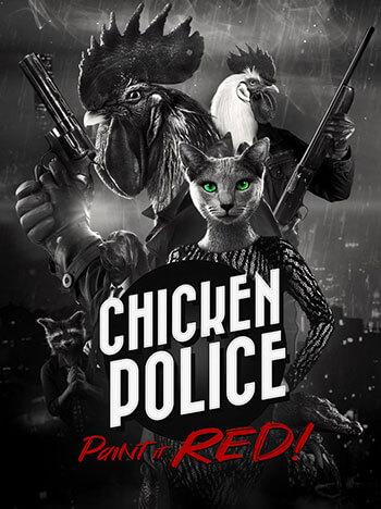 تحميل لعبة المغامرة Chicken Police للكمبيوتر